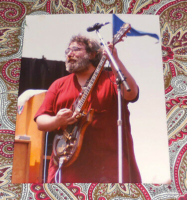 Jerry Garcia - Ventura 7/14/85 - Rob Cohn Dead Images - Group Of 2 - Look!