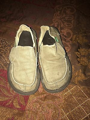 Sanuk shoes Sz 12 kids/girls or boys pre-owned IEC