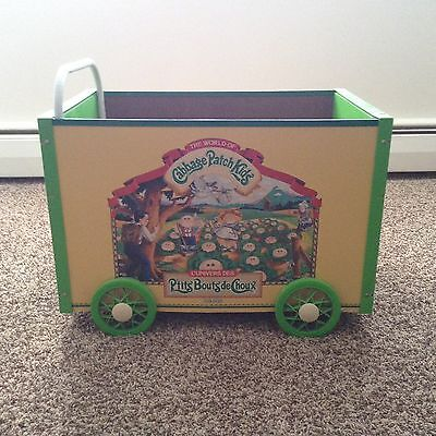Original Cabbage Patch Kids Push Wagon - Vintage Toys