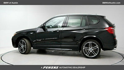 2017 BMW X3 xDrive28i Sports Activity Vehicle xDrive28i Sports Activity Vehicle 4 dr Automatic Gasoline 2.0L 4 Cyl Black Sapph