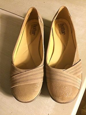 Hotter Size 5.5 Nude Flat Pumps