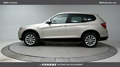 2017 BMW X3 sDrive28i Sports Activity Vehicle sDrive28i Sports Activity Vehicle 4 dr Gasoline 2.0L 4 Cyl MINERAL SILV MT