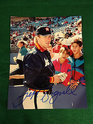 "Jeff Bagwell Autographed Photo 8"" x 10""  Houston Astros"