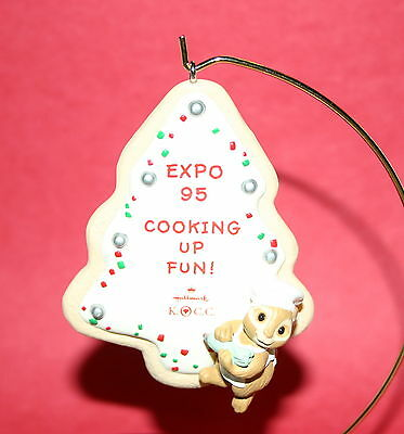 Hallmark Ornament 1995 Expo Cookie Cooking Up Fun!