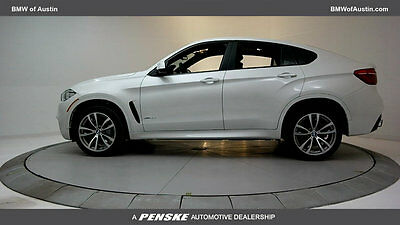 2017 BMW X6 xDrive35i Sports Activity xDrive35i Sports Activity New 4 dr Automatic Gasoline 3.0L I6 DOHC 24V
