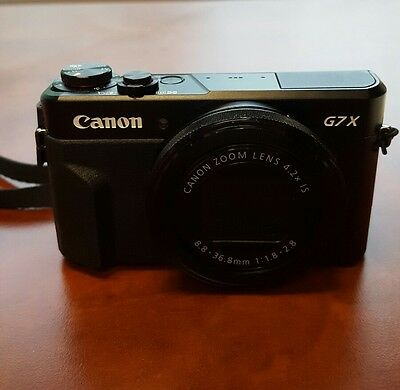 CANON g7x Mark ii GREAT Condition with 2 batteries, charger, and tripod