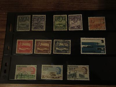 Antigua Stamp lot 2 - 14 different stamps - used