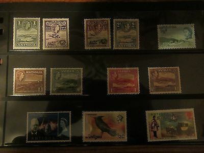 Antigua Stamp lot 1 - 16 different stamps - used