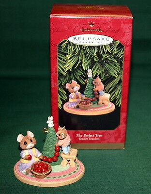 Hallmark Ornament 1997 The Perfect Tree-----Tender Touches