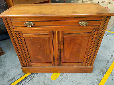 solid timber wooden cabinet