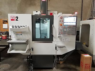 2016 Haas Super Mini Mill 2 Smm2 10K Rpm With Probing