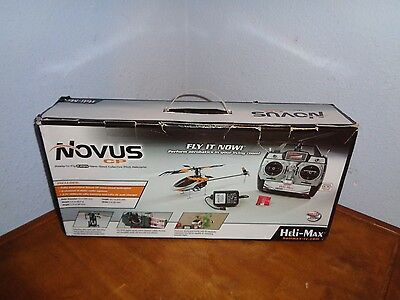 HELI-MAX NOVUS CP Ready To Fly  NANO Helicopter with  2.4GHz RADIO
