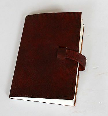 """Old World Timeless II Handmade Leather Journal 5"""" x 7"""" with buckle closure"""