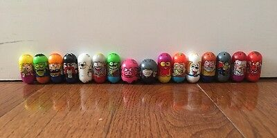 Mighty Beanz Moose Lot Of 16 Beans