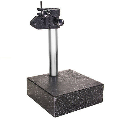 """HFS Granite Surface Check Comparator Stand Plate 6""""X6""""X2"""""""