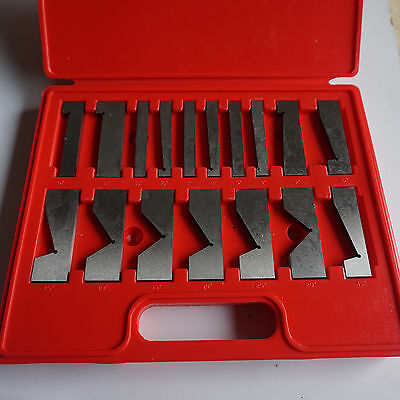 HFS Tools 17 Piece Precision Angle Block Set New