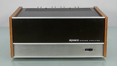 Dynaco Model 150 Stereo Power Amplifier, Solid State, NICE!