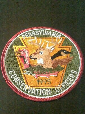 Pa Conservation Officers 1995 Deer Patch