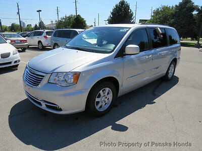 2012 Chrysler Town & Country 4dr Wagon Touring 4dr Wagon Touring Van Automatic Gasoline V6 Cyl Bright Silver Metallic