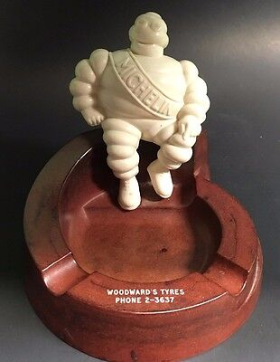 Vintage 1930's Bibendum Michelin Man Bakelite Ashtray – Made in England