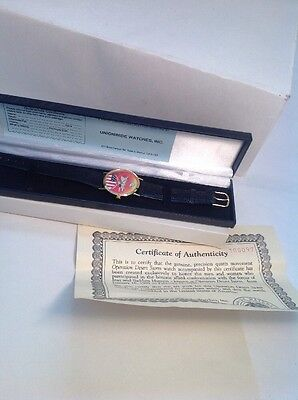 OPERATION DESERT STORM COMMEMORATIVE WATCH With original Case.