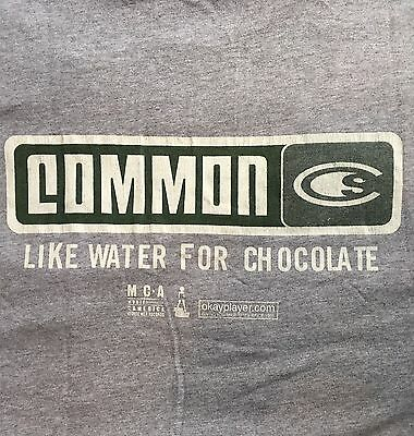 Common Like Water For Chocolate Original Promotional T Shirt Dilla Hip Hop
