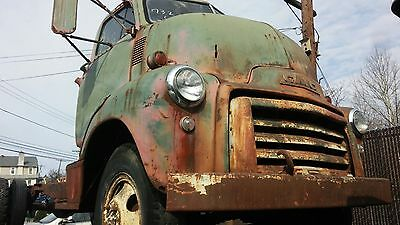 1951 GMC Other  1951 GMC Cab Over Engine complete cab and chassis with great patina. Project