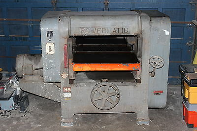 "1950's Powermatic 24"" Planer Model 224"