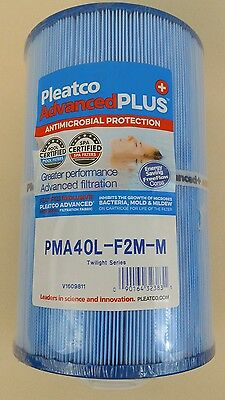 Pleatco PMA40L-F2M-M Replacement Cartridge for Master Spas Twilight NEW SEALED