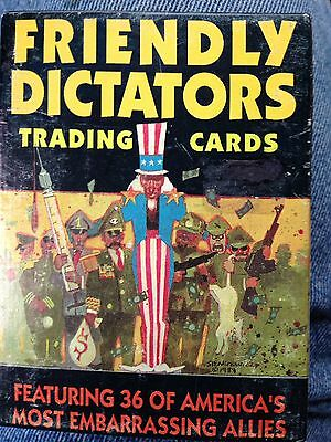 Friendly Dictators Trading Cards