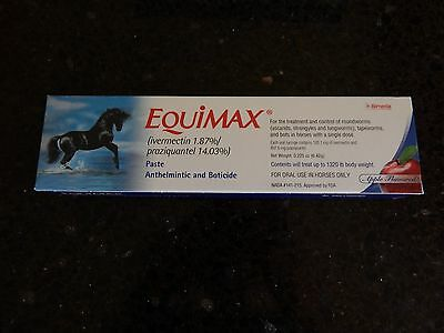 3 Packs of Equimax Paste Horse Wormer
