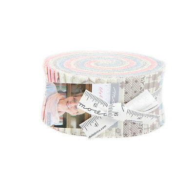 Patchwork/quilting Fabric Moda Lily & Will Revisited Jelly Roll