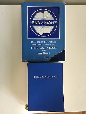 Vintage Set Of The Paramony Hardcover & Dj + The Urantia Book Softcover