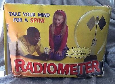 Duro-Lite Solar Engine Radiometer ~ Great Science Experiment and Activity