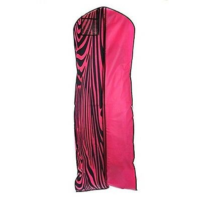 Brand New Light Pink Breathable Wedding Gown Dress Garment Bag
