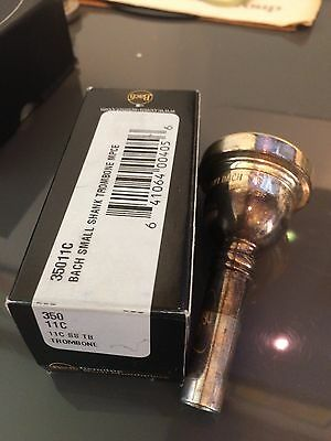 Nos VINCENT BACH Elkhart IN Trombone Mouthpiece  11C small shank