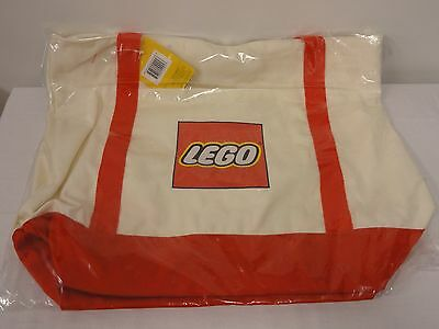 NEW LEGO 2017 Exclusive Canvas Tote Bag 5005326 Free Shipping