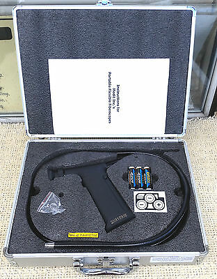 Medit Hf9-1350 Flexible Fiberscope / Borescope & Case, Aviation/engineering