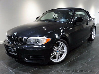 2012 BMW 1-Series 135i 2012 BMW 135 CONV'T NAV M-SPORT-PKG HEATED-SEATS BLK-TOP HK-SOUND XENON MSRP$52k