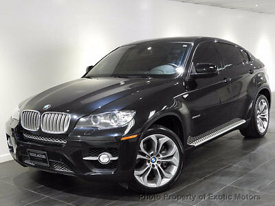 2012 BMW X6 50i 2012 BMW X6 xDRIVE50i NAV REAR-CAMERA PREMIUM/SPORT/COLD-WEATHER-PKG MSRP$79k