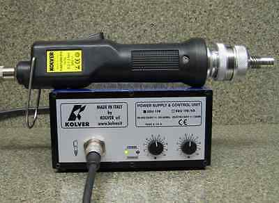 KOLVER FAB12RE/FR ELECTRIC TORQUE SCREWDRIVER EDU1FR POWER SUPPLY hios