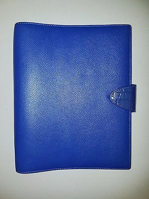 Filofax Calipso A5 Organiser (Organizer) / Planner, Deluxe Leather Electric Blue