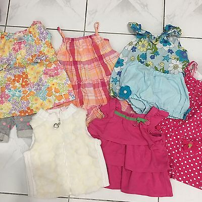LOT OF 8pcs ITEMS BABY GIRL 18m-2T  CLOTHING (D)