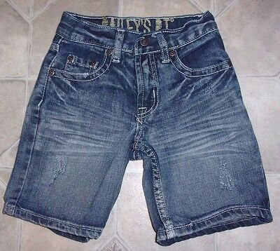 Boys Size 4 ~ Bailey's Point Shorts ~ Distressed Euc