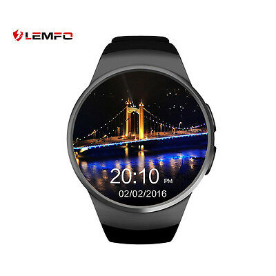 Lemfo KW18 Bluetooth SIM TF Smart Watch Phone Sport Pedometer For Android iOS