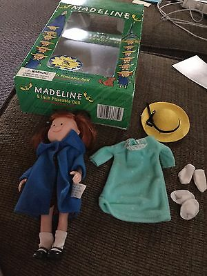 """Madeline Eden Gift 8"""" Poseable Doll  With Bedtime Outfit 1994"""