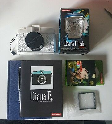 Lomography Diana F+ Camera Complete Set