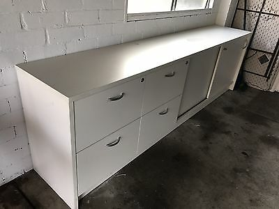 Long Office Storage Cabinet