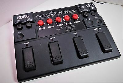 1990' Korg G3 (TONE WORK) Multi-Effects Guitar Pedal
