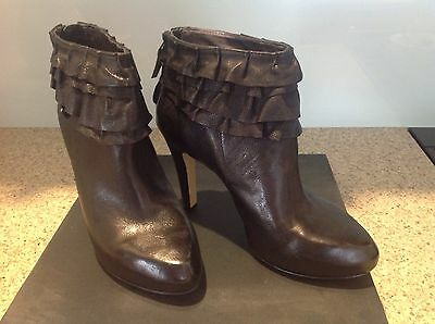 Ladies Leather Boots Nine West Size 7